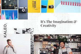 Kaleo - Creative Portfolio Template Kit