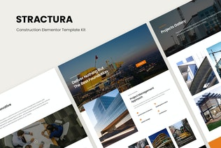 Stractura - Construction Elementor Template Kit