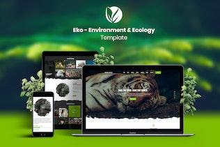 Eko - Environment & Ecology Template Kit