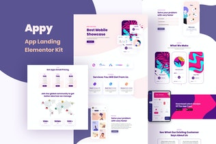 Appy - Sales & Landing Page Template Kit